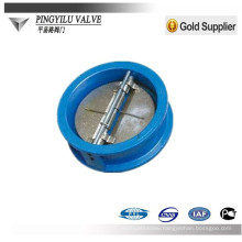wafer type single disc swing check valve china supplier for oil and gas