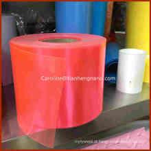 Folha de plástico rígida transparente Rigid Film 0.5mm Thick