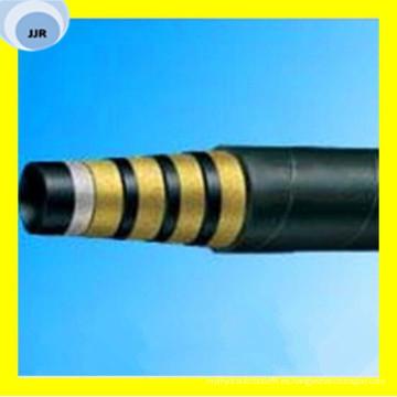 Manguera hidráulica multiespiral de calidad superior DIN 20023 En 856 4sh