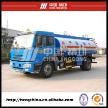 El fabricante chino ofrece el petrolero a estrenar (HZZ5162GJY) para la venta