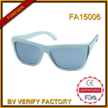 Fa15006 High Quality Acetate Polarized Sunglasses with Woman 2016