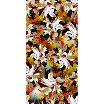 High Quality Digital Printed Nylon Fabric (ASQ097)