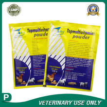 Medicamentos veterinários de multivitaminas em pó (150g)