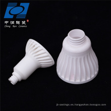 Piezas de lámpara de alúmina lámpara de cerámica holer