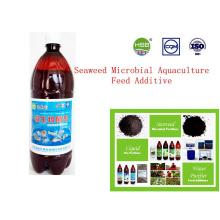 Aditivo para piensos de acuicultura microbiana de algas