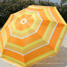 A17 grand parapluie de plage soleil extérieur portable