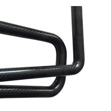 Tube de canne à mouche flotteur tressé en fibre de carbone 12 * 10 * 500mm