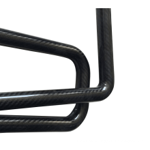 12 * 10 * 500 мм плетеная труба из углеродного волокна плетеная