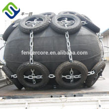 Small marine rubber fender for trawler