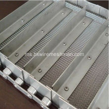 Wire Mesh Rod Chain Conveyor
