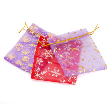 80012- Xuping Fashion Bronzing Gauze Jewelry Gifts Bag