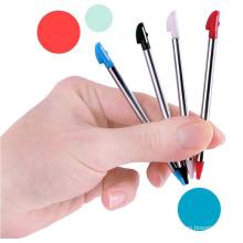 4 Farben Ersatz Retractable Metall Stylus Touchscreen Stift Für Nintendo 3DS XL LL
