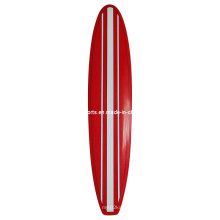 Stand up Paddle Board with Red Colour, Simple Air Brushes Surface Colour Surfboard, Design Can Be Customized