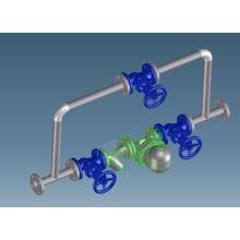 Углеродистая сталь кованая конденсатоотводчик