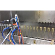 Ligne de machines de peinture par pulvérisation pour produits en plastique