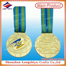 Награды Чемпион Памятную Медаль Металла Золота