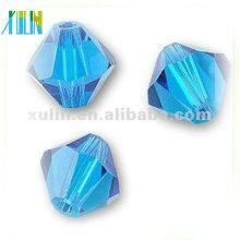 Neueste Design Perlen Halskette 4 MM Kristall Glasperlen Bicone Perlen 5301 #