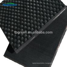 anti slip hammer top cow horse trailer rubber mat