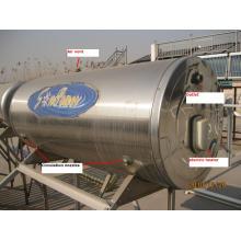 Wassertank für Flachplatte Solarsammler