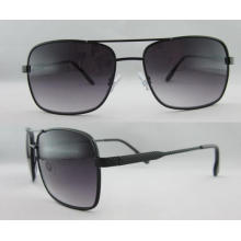 New Plastic with Metal Temple Sunglasses Wholesale Price 263127