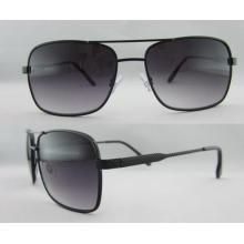 Novo plástico com metal Temple Sunglasses Preço por atacado 263127