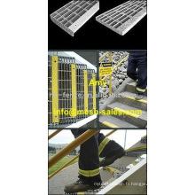 1 râpage en acier de grille en acier / grille en métal / grille râlant l'acier