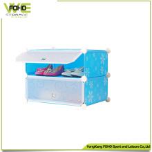 Armario de cajones Gabinete de almacenamiento de organizador de zapatos de plástico