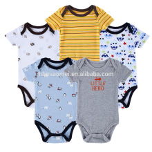 Ropa de bebé infantil para niños de China Body de bebé de algodón mameluco