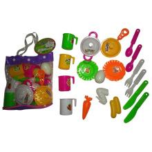 Mini cozinha cozinhar conjunto de brinquedo para crianças