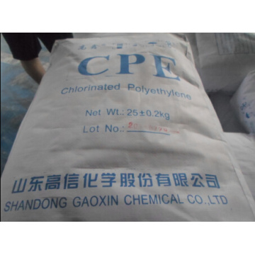 High Efficiency Factory for CPE Plastic Sheet Chlorinated Polyethylene CPE Resin 3135 export to France Supplier
