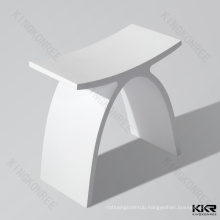 Custom Size solid surface design shower stool