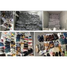 Günstige Big Size Gebrauchte Schuhe Second Hand Schuhe Sportschuhe Lager