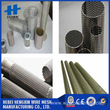 164 mm out diameter Perforated filter tube