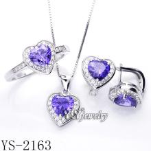Комплект ювелирных изделий способа 925 серебряный (YS-1388, YS-2135/47/49/63, YS-0846R)