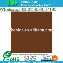 Revêtement en poudre brun métallique électrostatique