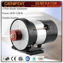 AC y DC 3kw Alternador con 100% de alambre de cobre
