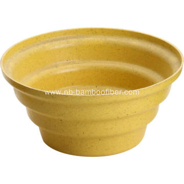 Large opening short internal and external flower pot