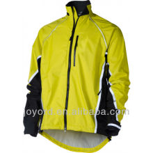 Custom Windstopper Long Cycling Fleece Jacket Plus Size