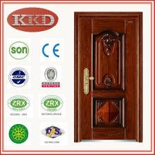 Novo Design de 2014, porta de aço de segurança KKD-105 para uso residencial à prova de som