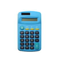 Basic Calculator with Dual Power for School