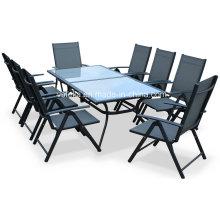8 Stück Aluminium Teslin Garten Outdoor Speisesaal