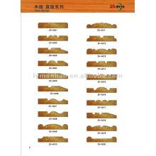 moulures en bois décoratives