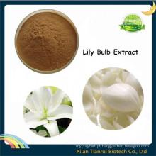 Brownii natural do Lilium, extrato do bulbo do lírio