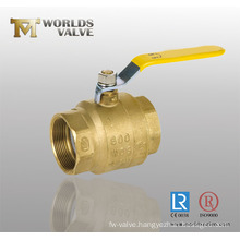 Brass Female Thread End Mini Ball Valve