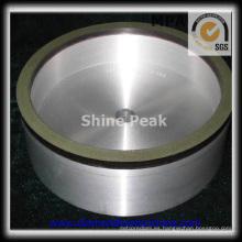 Granito que muele la rueda de tambor de diamante para el carburo de tungsteno