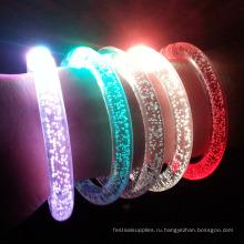 Новый год акриловые светодиодные браслет