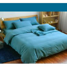 Tela de teñido de poliéster de tela de sarga para textiles para el hogar