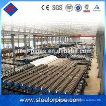 Tube en acier structuré à paroi épaisse personnalisée pour les tailles de construction