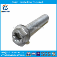 China supplier Hot Dip Galvanised flange bolt with torx head