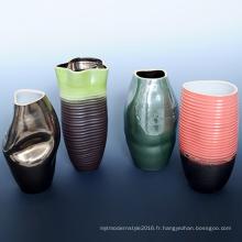 Vente en gros coloré pour les vases à fleurs maison Decoratioin (A08056)